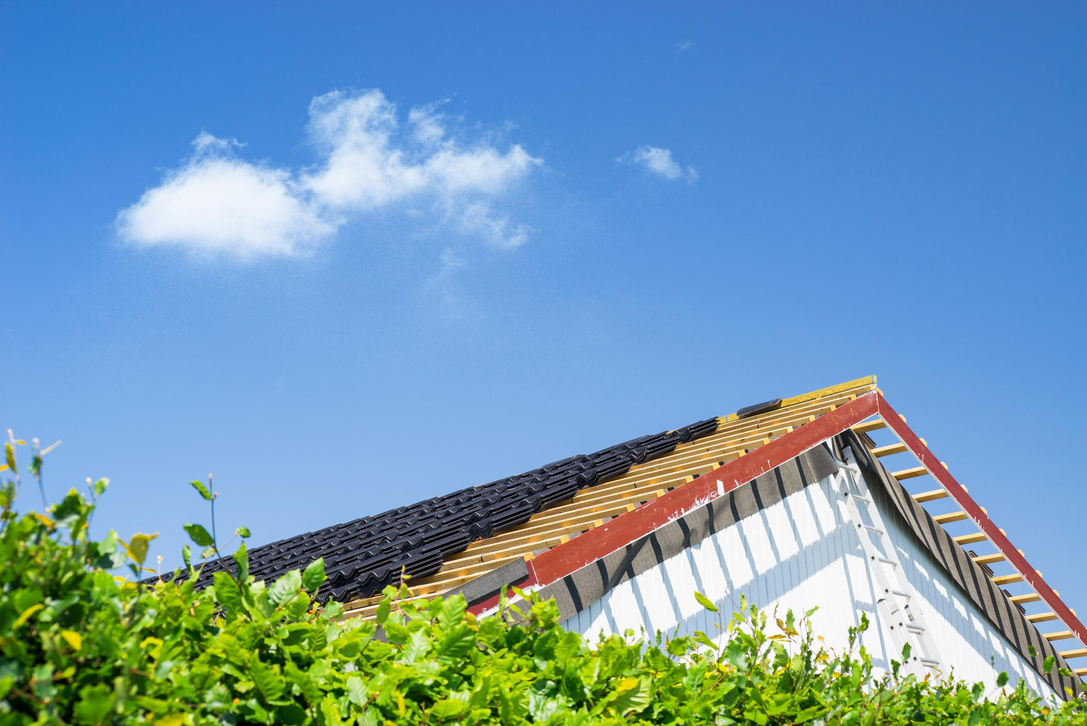 the image of roof after getting roof repair by roofing experts in encinitas
