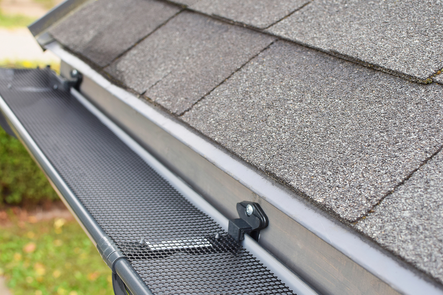 this images shows gutter installation by encinitas roofing pros