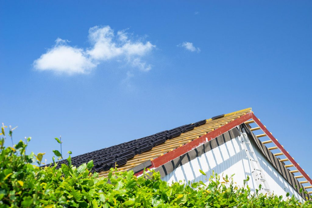 this image shows rancho santa fe roofing project