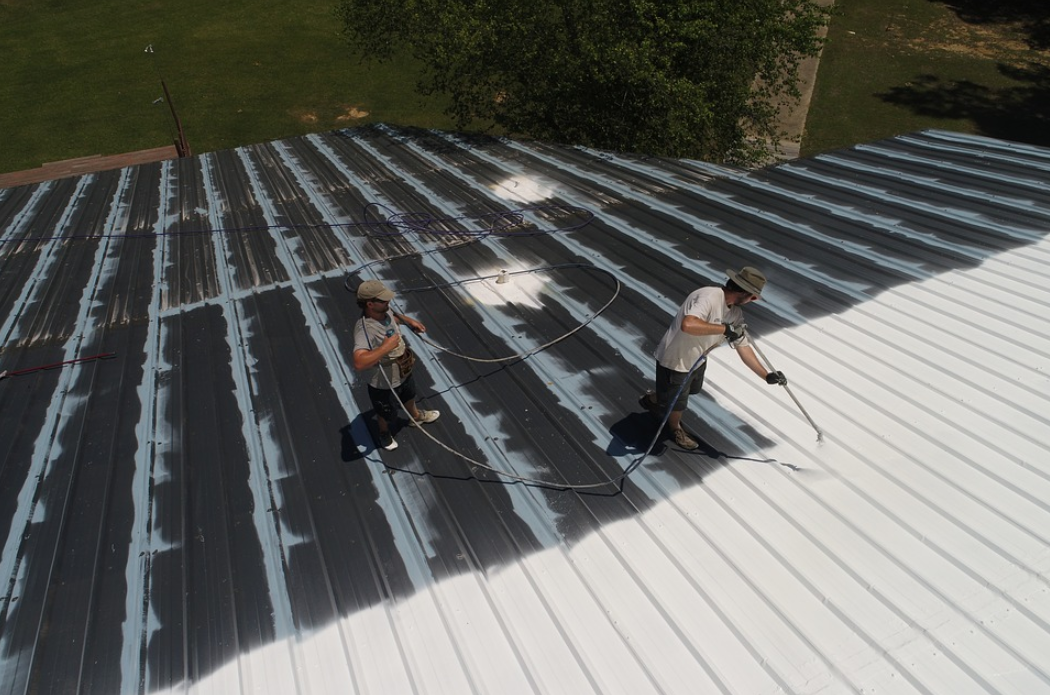 this is an image of roof coating in Encinitas