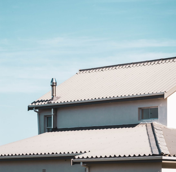 this is an image of steel roof in Encinitas